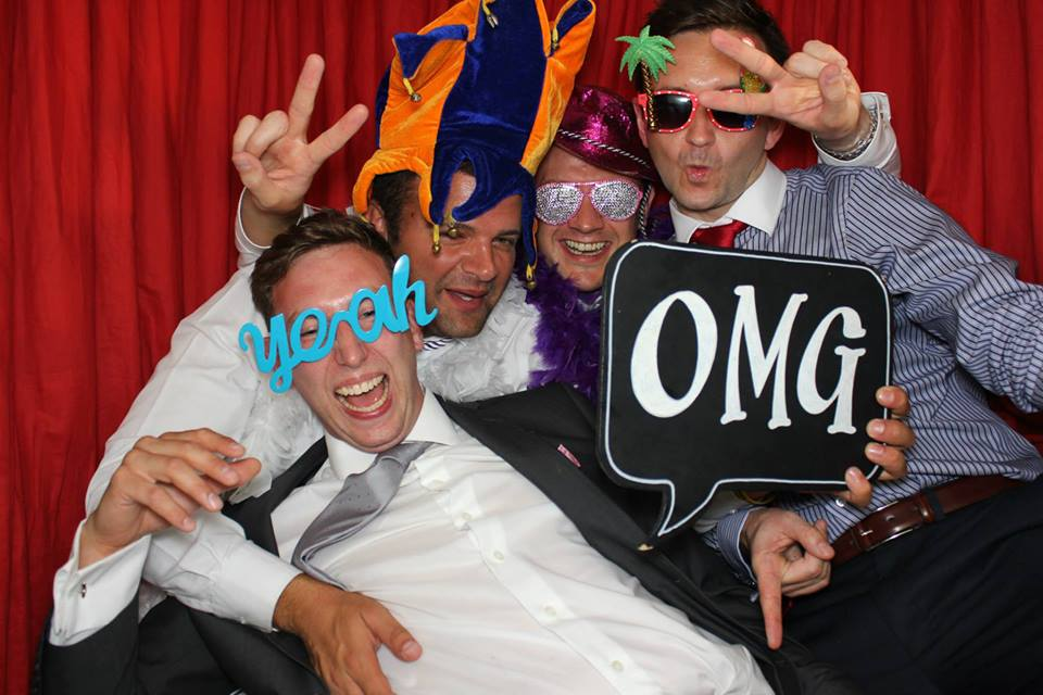 Wedding in London and Kent with Platinum's photo booth hire.