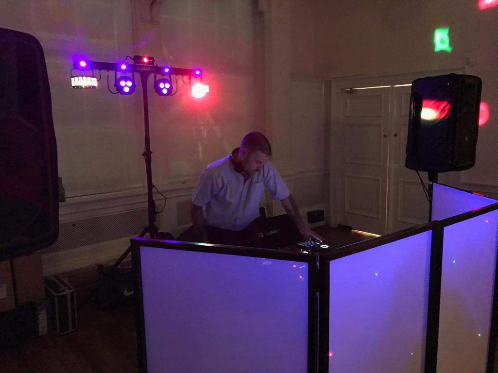 Kent DJ Liam performing at Trafalgar Tavern in Greenwich.